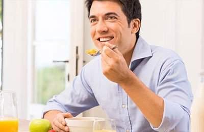 Dieta per uomo