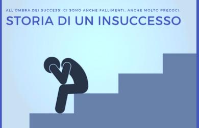 Si parla sempre di grandi risultati, di successi. In realtà però, all'ombra ci sono anche insuccessi e alcuni anche molto precoci.